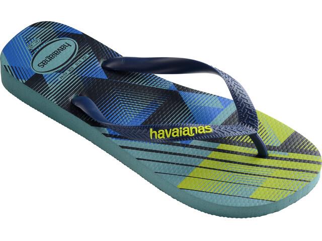 havaianas Trend Flips Men Mineral Blue